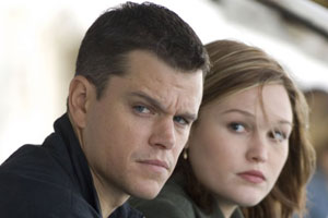Damon y Stiles en The Bourne Ultimatum