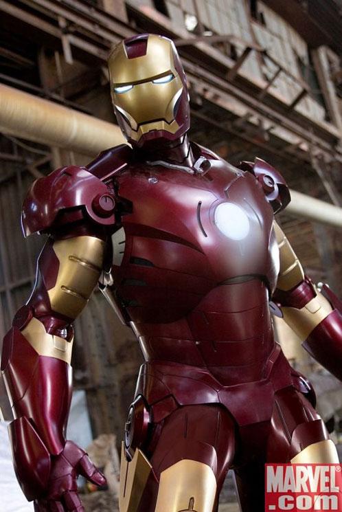 Iron Man... osea el Hombre de Acero, no?